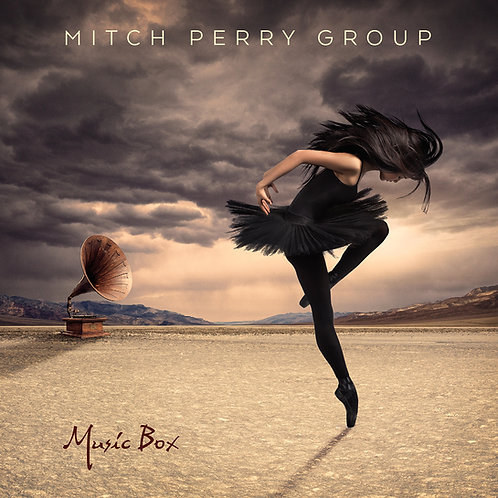 Mitch Perry Group - Music Box - Physical CD