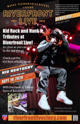 Kid Kentucky Kid Rock Tribute at Riverfr