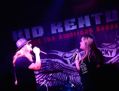 Kid Kentucky and the American badass band furniture factory June 2021 by Samantha Morrow -