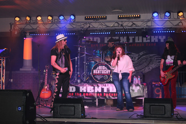 Kid Kentucky kid rock tribute show, Bike