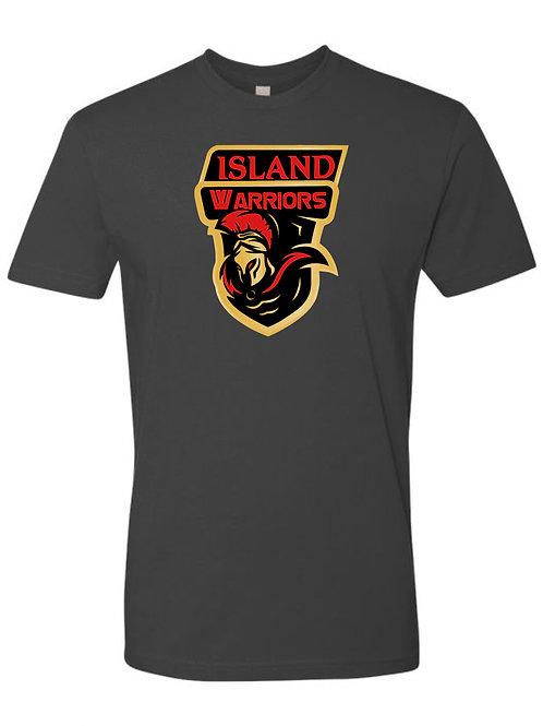 Island Warriors Plain T-shirt : Dark Metal Grey