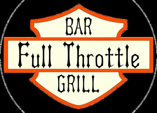 Kid Kentucky in the American badass band kid rock tribute show Full Throttle logo
