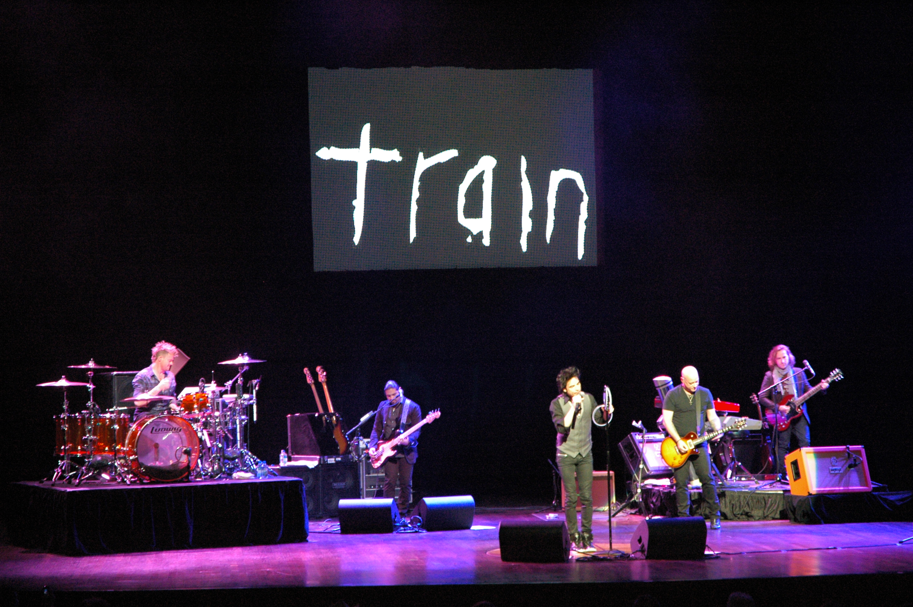 Train Performs Live Private Events
