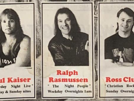 Ralph Rasmussen Radio History - Vintage WVVX Newsletter