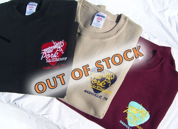 Pork McElhinny Embroidered Sweatshirts