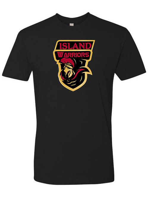 Island Warriors Plain T-shirt : Black