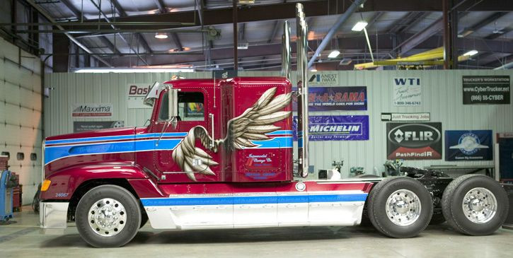 trucker gifts trick my truck big rig 12.