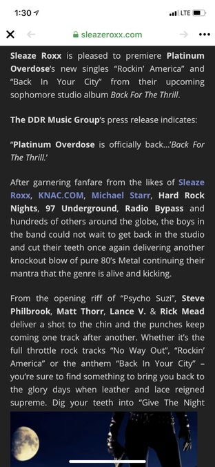 Radio Bypass Plays Platinum Overdose