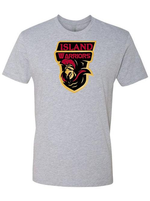 Island Warriors Plain T-shirt : Light Metal Grey