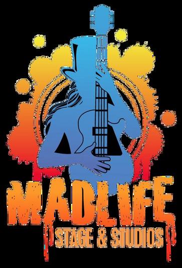 Kid Kentucky in the American badass band kid rock tribute show Madlife logo
