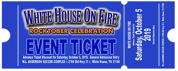 White House On Fire : Event Day Ticket