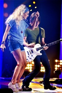 Carrie Underwood Rehearsal