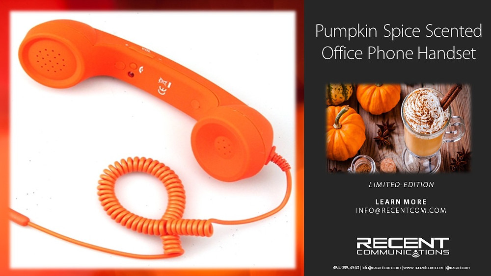 Pumpkin spice office phone
