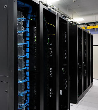 Data center network cabinets