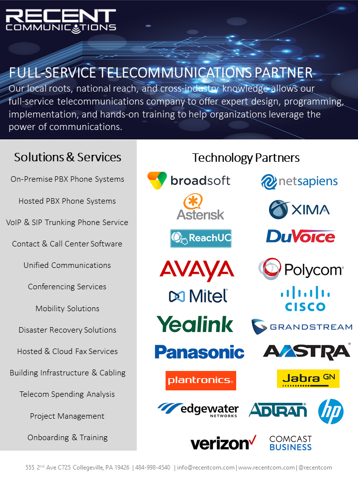 Full-service telecommunications company
