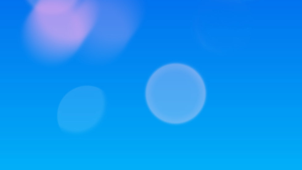Blue background with floating circles