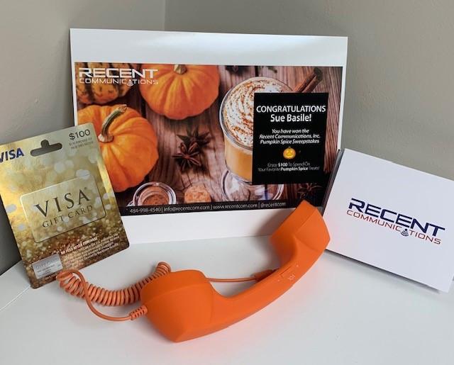 orange pumpkin spice phone