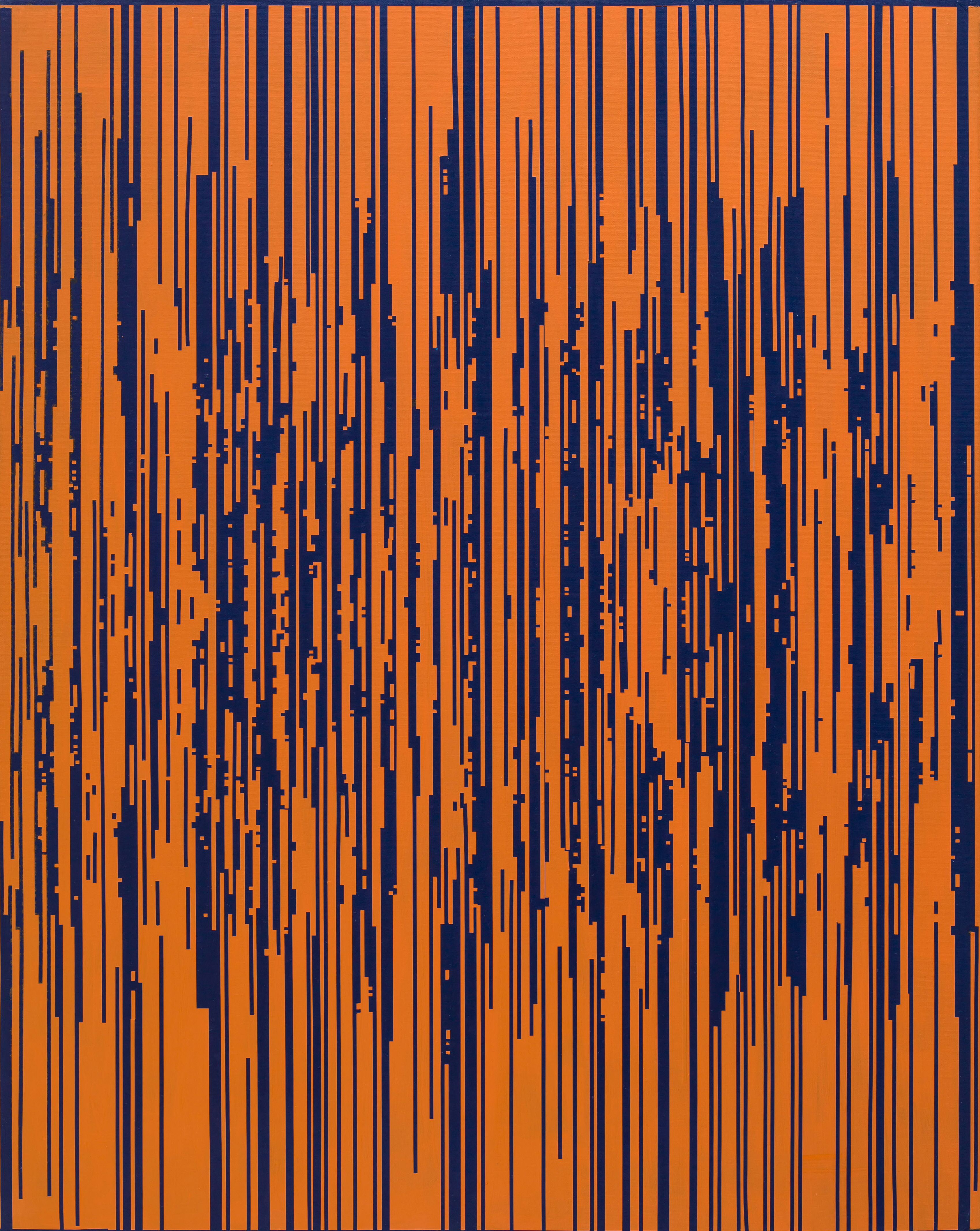 ENCODING 2015, Acrylic on canvas, 90.9 x 72.7cm (11)