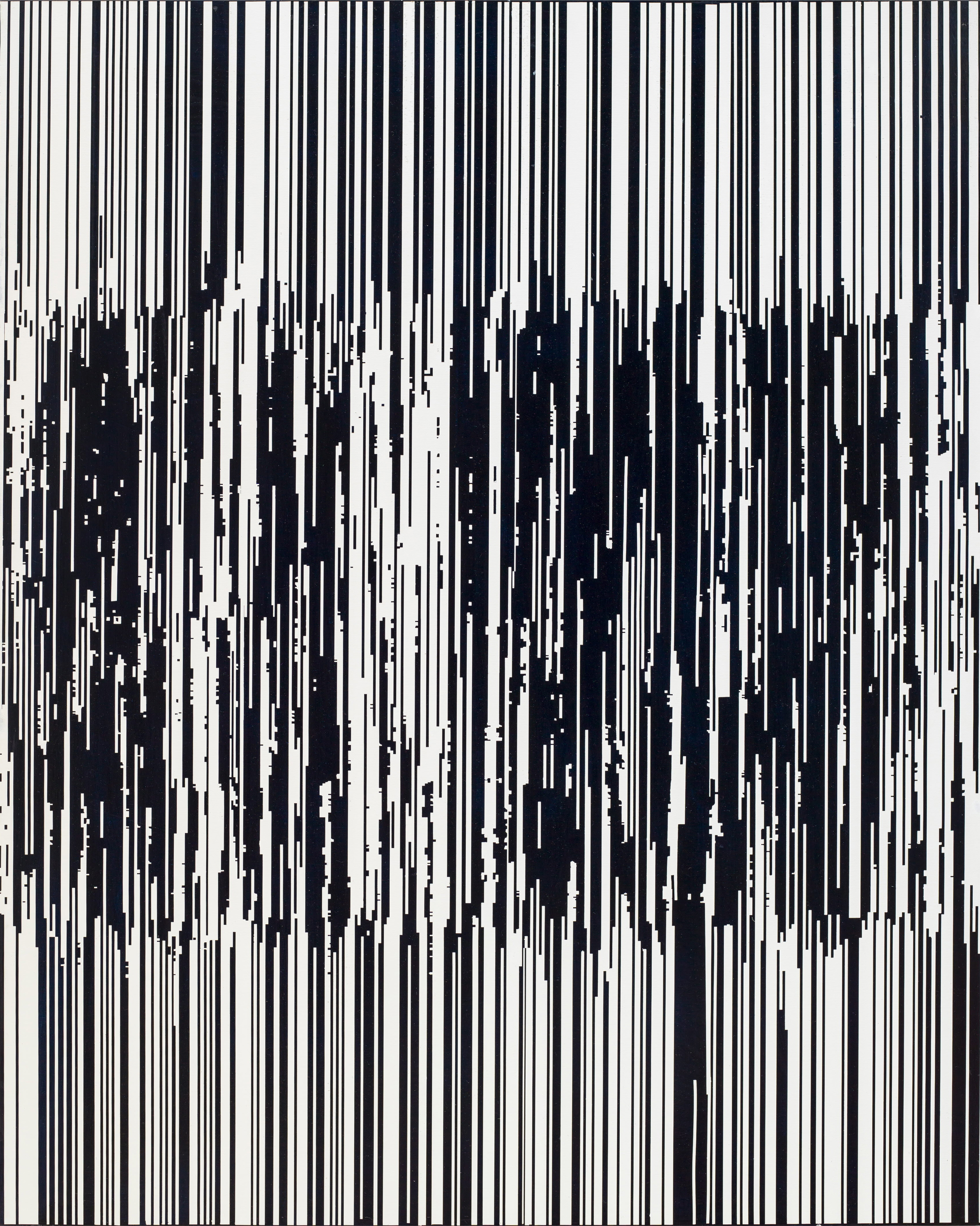ENCODING 2015, Acrylic on canvas, 162.2 x 130.3