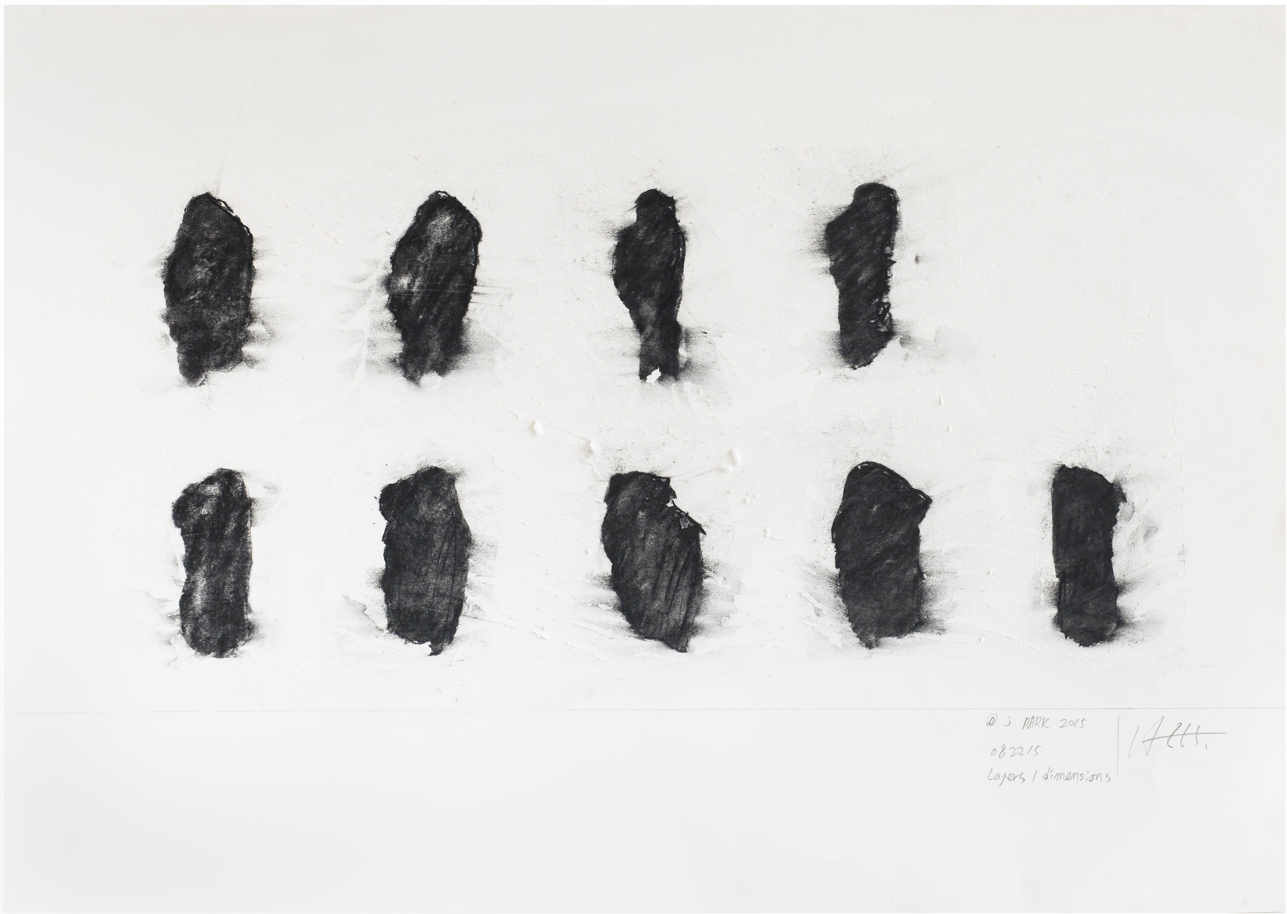 ENCODING 2015, Chacoal on paper, 99x69cm (2)
