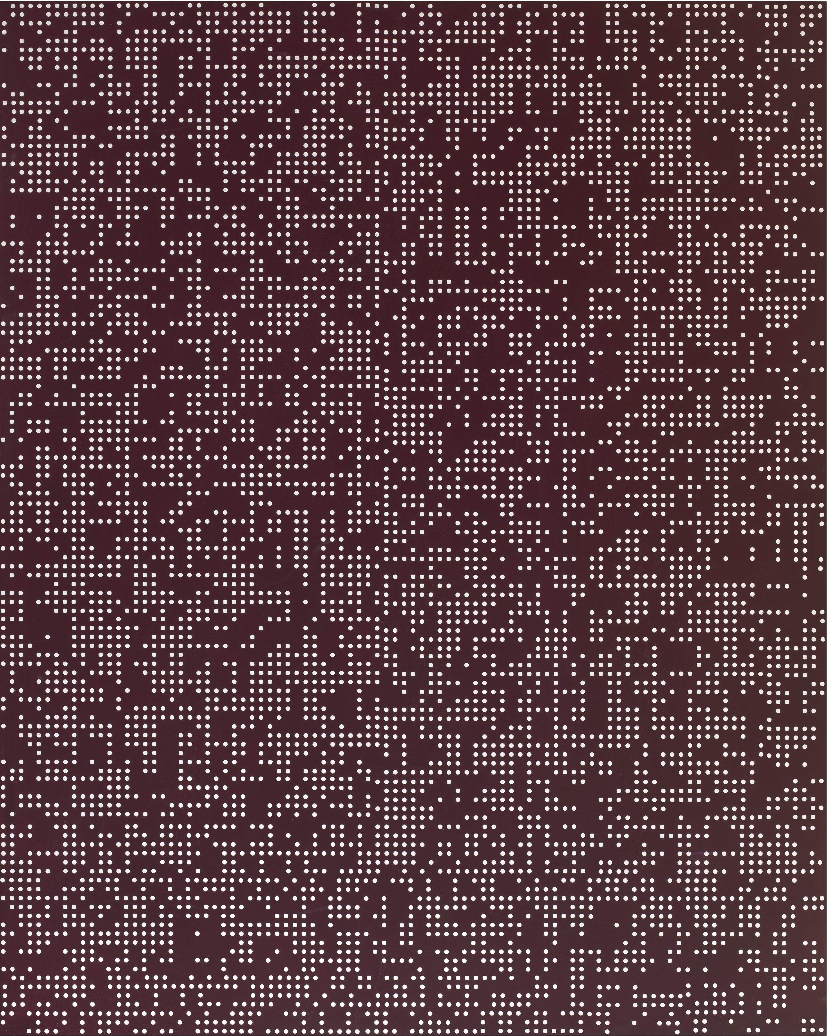 ENCODING 2015 , Acrylic on canvas, 116.8x91cm (2)