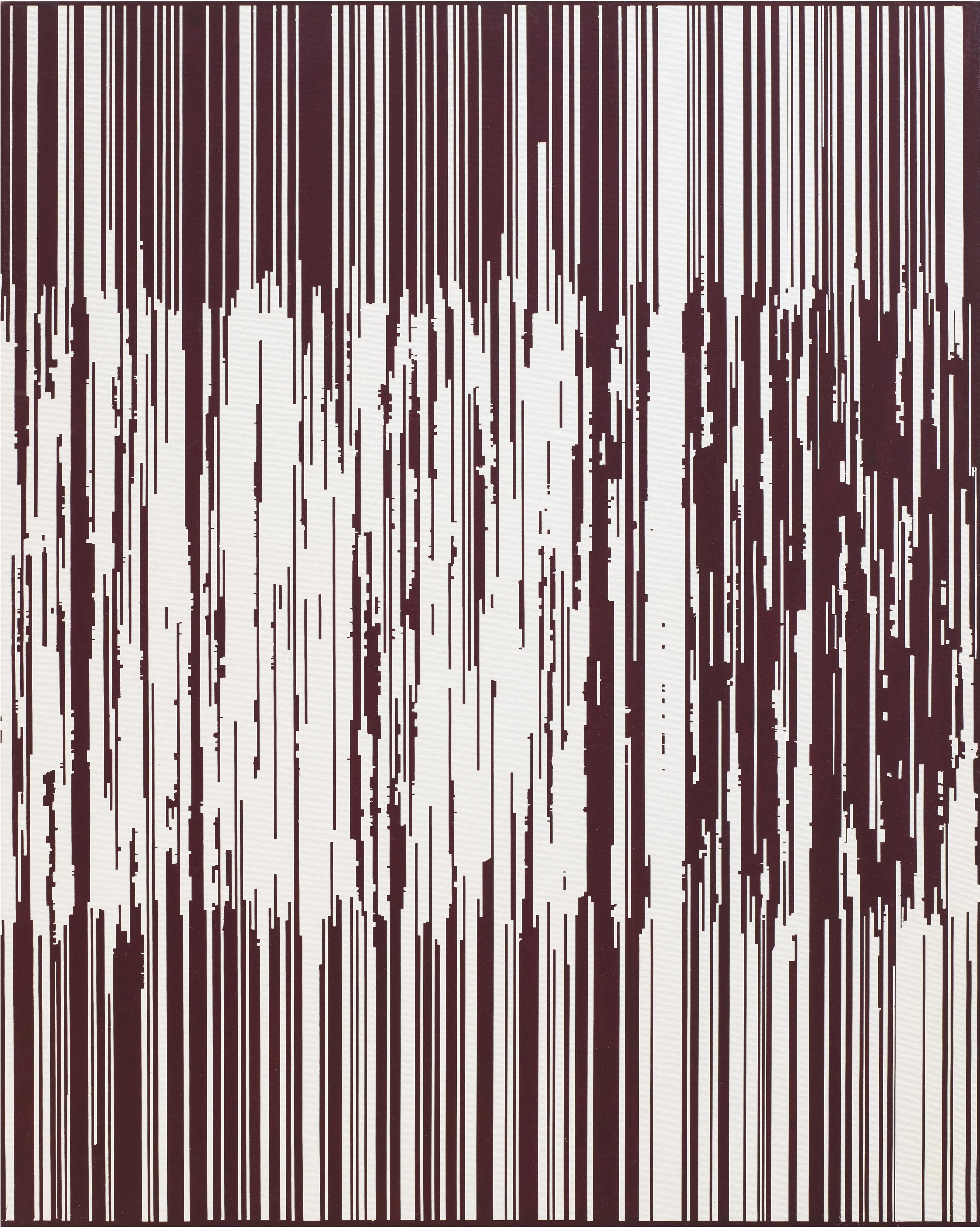 ENCODING 2015, Acrylic on canvas, 90.9 x 72.7cm (5)