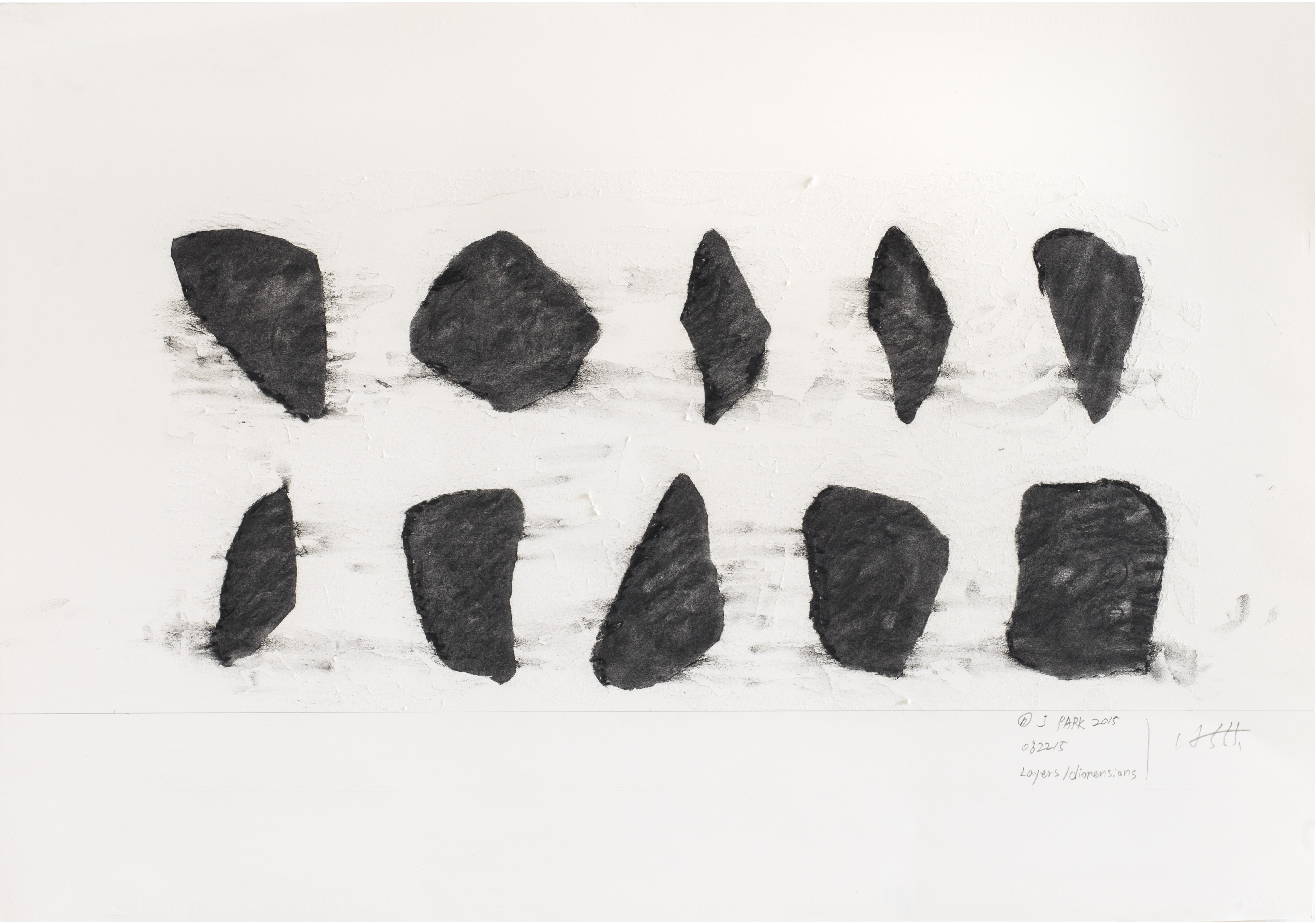 ENCODING 2015, Chacoal on paper, 99x69cm (3)