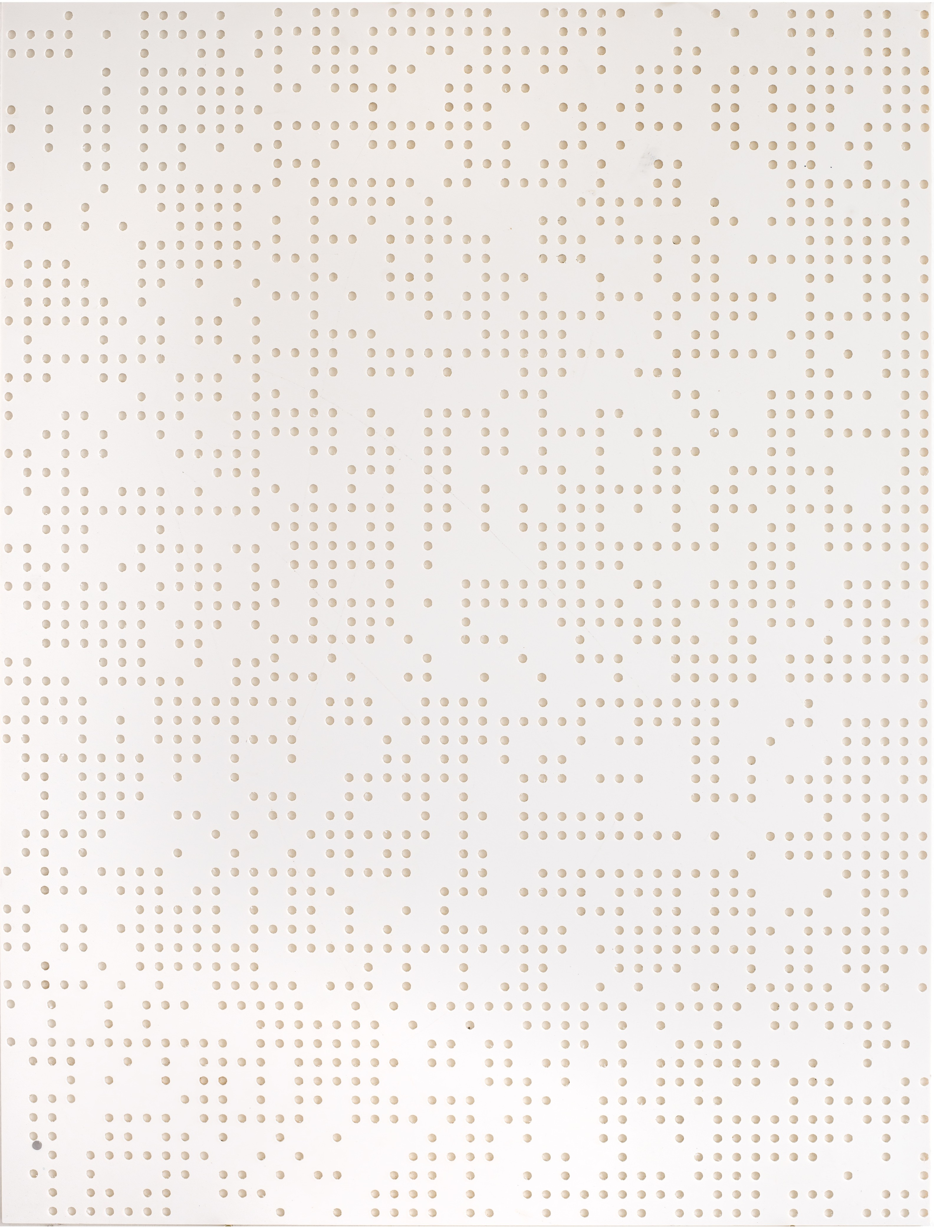 ENCODING 2015, Computer numerical control(CNC) plastic board, 90x68cm,