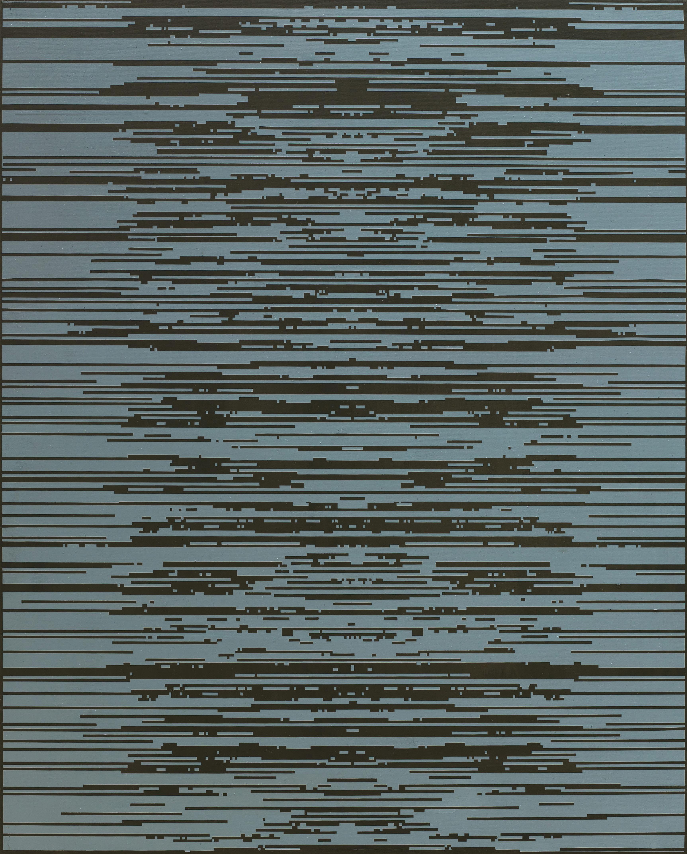 ENCODING 2015, Acrylic on canvas, 90.9 x 72.7cm (8)