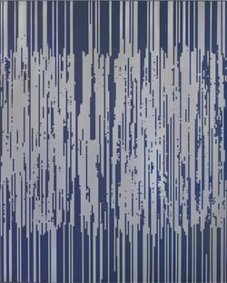 ENCODING 2015, acrylic on canvas, 227.3x181.8cm (7)