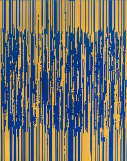 ENCODING 2015, acrylic on canvas, 227.3x181.8cm (4)
