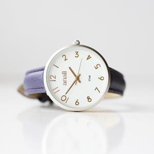 Personalised Anaii Watch in Orchid Purple 1