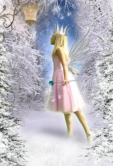Fantasy & Fairytale Portraits - 'Ice Fairy'