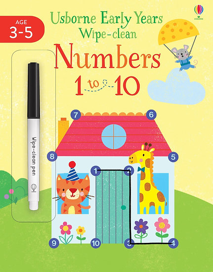 Early Years Wipe-clean Numbers 1 to 10