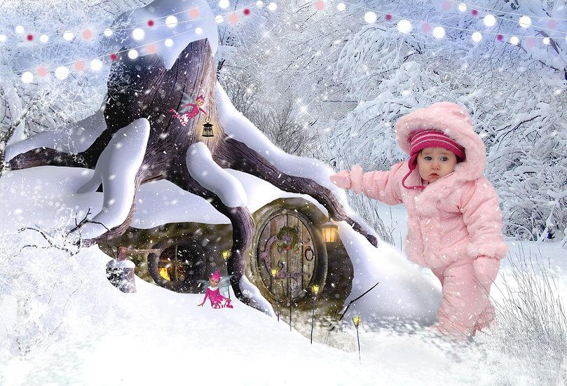 Fantasy & Fairytale Portraits - 'Winter Hideaway'