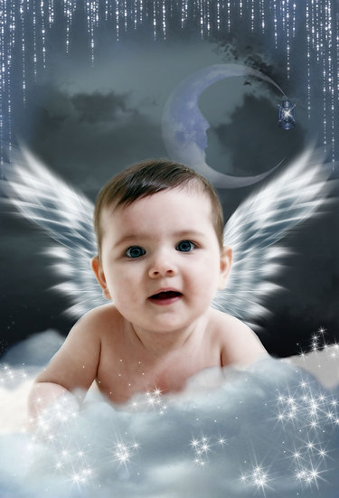 Fantasy & Fairytale Portraits - 'Angel Wings'