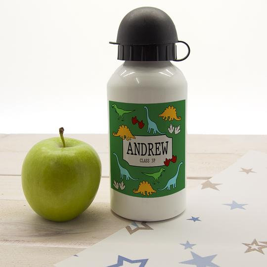 Cool Jurassic Personalised Water Bottle 1st View