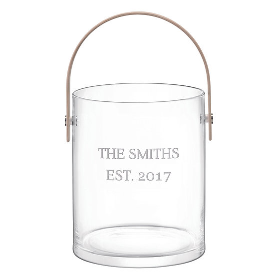 LSA Personalised Ash Handle Ice Bucket 1st View