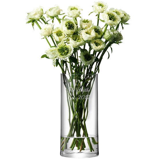 Personalised Column Vase