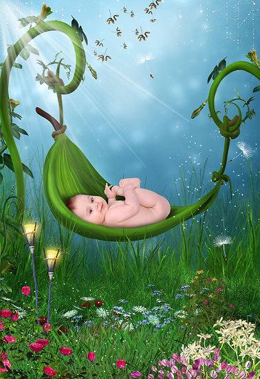 Fantasy & Fairytale Portraits - 'Natures Rest'