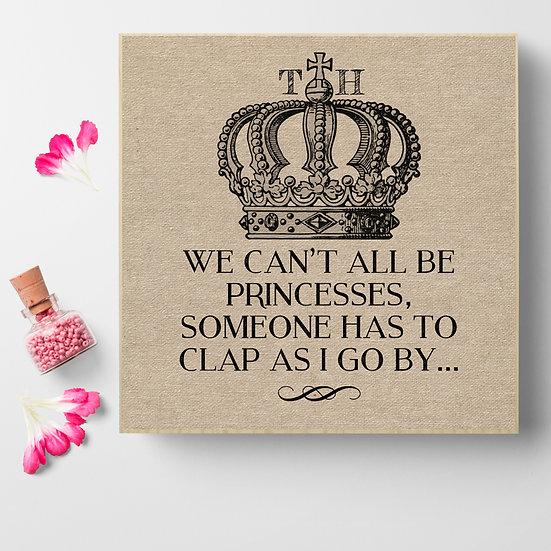 Personalised 'Princesses' Picture Blocks