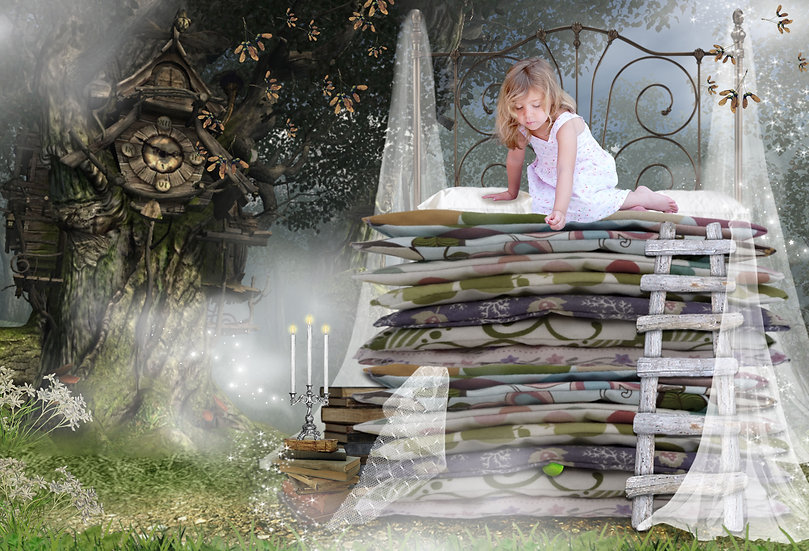 Fantasy & Fairytale Portraits - 'The Princess And The Pea'