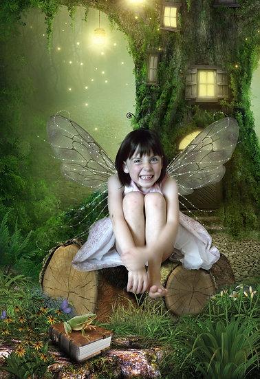Fantasy & Fairytale Portraits - 'The Naughty Fairy'
