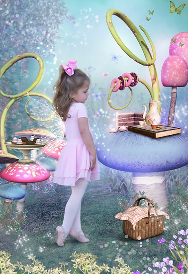 Fantasy & Fairytale Portraits - 'Sweet Shelf'