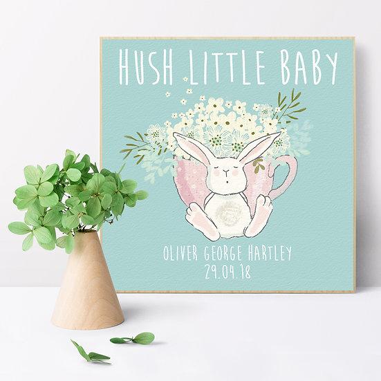 Personalised 'Hush Little Hush' Picture Blocks
