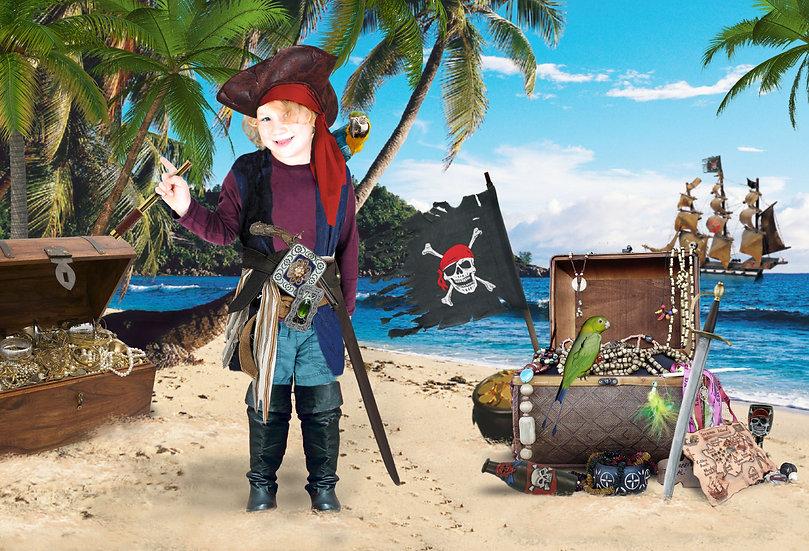 Fantasy & Fairytale Portraits - 'Pirate Treasure'