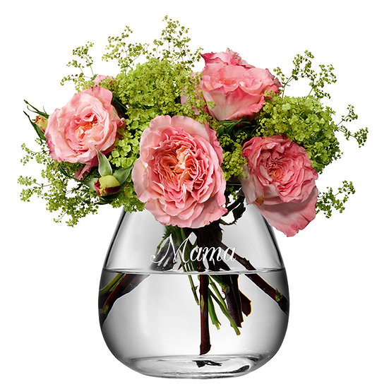 Personalised Bouquet Vase
