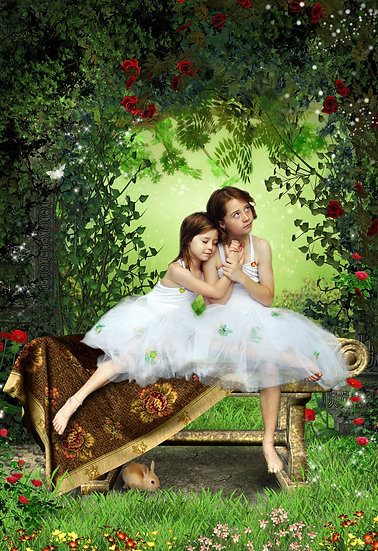 Fantasy & Fairytale Portraits - 'Babes In The Wood'