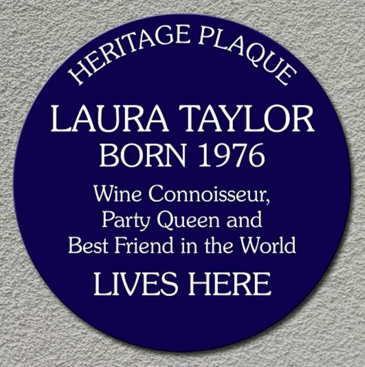 Personalised Heritage Blue Plaques 2
