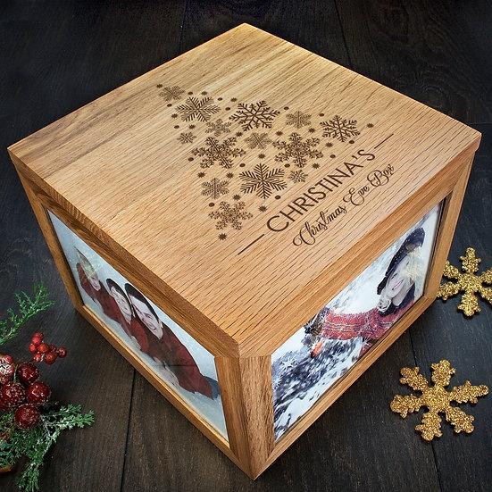Personalised Christmas Memory Box Tree Design
